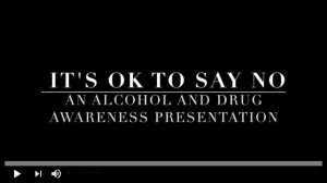 It's OK To Say No Video Cover Photo